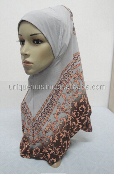 H294 latest muslim hijab with beautiful prints,muslim scarf