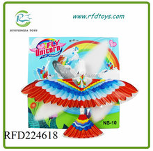 Windup Flying Bird With Flapping Wings - Kids Fun Exciting Bird Toy