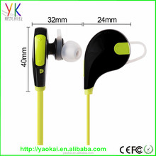 2015 Factory private sport stereo bluetooth headset New mini bluetooth headset, sports stereo