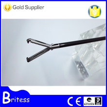 Surgical autoclavable laparoscopic Rat tooth forceps