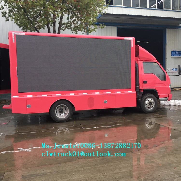 FORLAND P6/P8 LED screen mobile advertising truck for sales