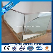 china manufacturer 9h tempered glass raw material with EN/SGCC/AS certificate