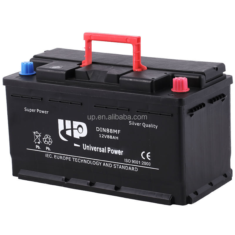 Maintenance free 12v car battery lead battery post cap terminal battery DIN88