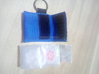 Heaven CPR Keychain Mask CPR Faceshield With Life Key Mouth to Mouth Breath Device with a Woven(Nylon) Bag,