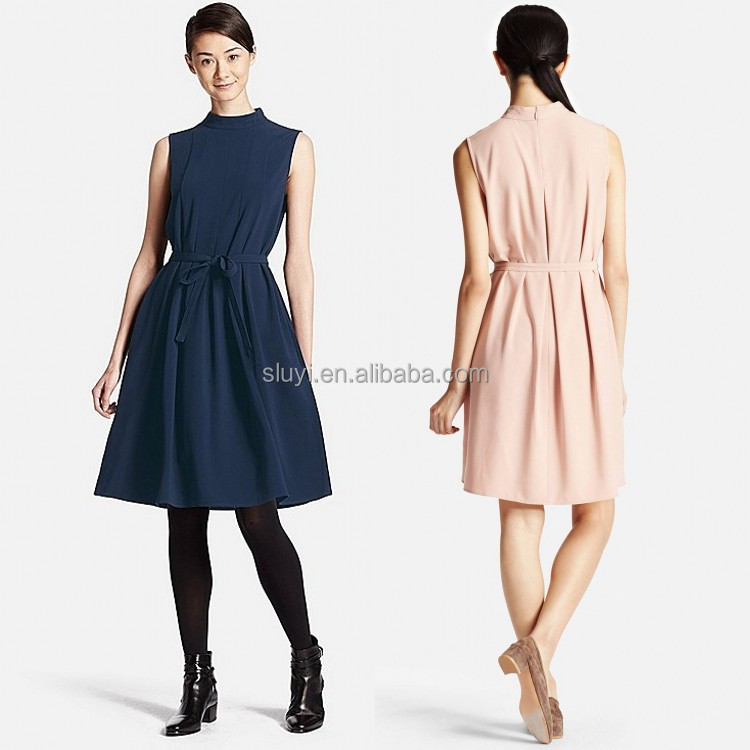 made in china clothing wholesale small quantity clothing manufacturer low moq casual style sleeveless women sexy urban clothing