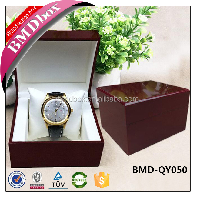 High quality wooden watch boxes packaging display manufacturer in china