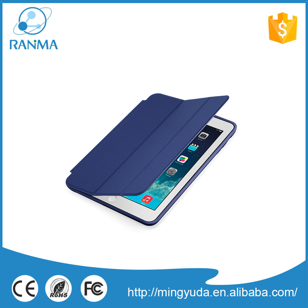 Ultra Slim Stand custom design pu leather case for ipad mini