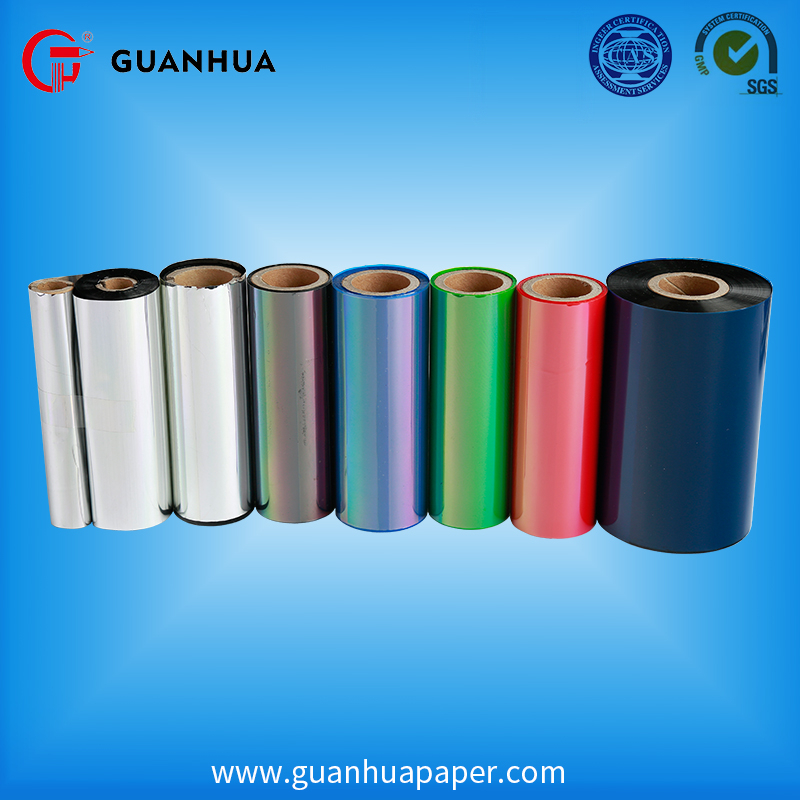 Manufacturer Supplier thermal transfer ribbon roll