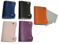 YIWU Promotional gifts leather business card book
