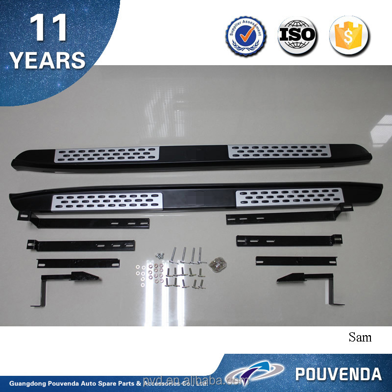 High Quality Low Price Running Board for 2011+ Lifan X60 side step (Original Factory model)