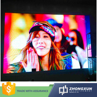 Promotional large angel viewing full color rental LED outdoor display