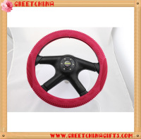 SGS Approval UNIVERSAL Night Lights Embossed Silicone Steering Wheel Cover