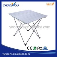 Best quality best selling aluminum folding mini camping table