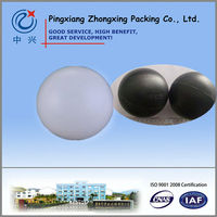 Hard Plastic Cover Balls White Black
