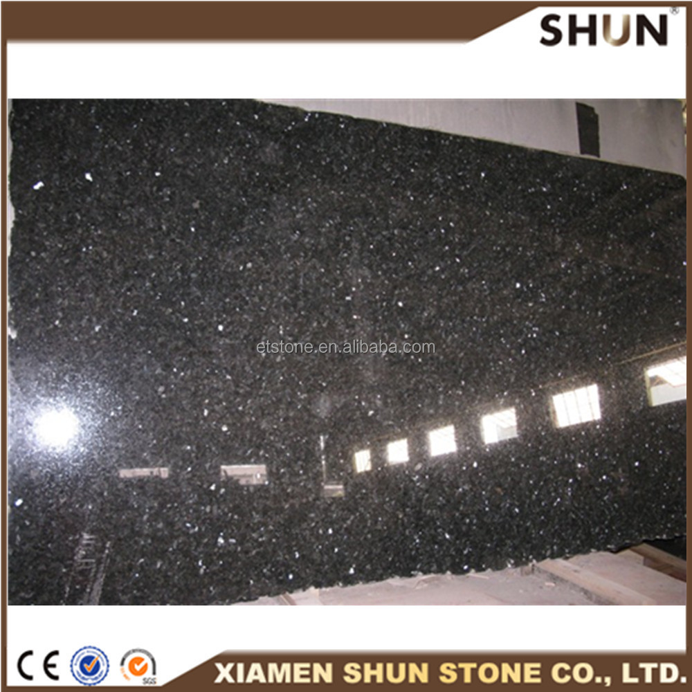 Black galaxy granite india slabs tiles granite,imported black galaxy,high quality black star galaxy granite for hotel