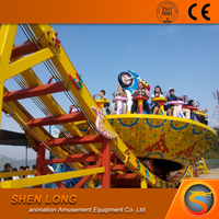 Chines best price amusement park equipment rides Flying UFO for sale