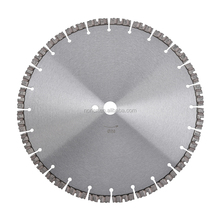 Wet Or Dry Diamond Saw Blade,14 Inch Diamond Laser Welded Blade for Concrete Cutting for Walk Behind Saws, Model # NRV 0350 PEK
