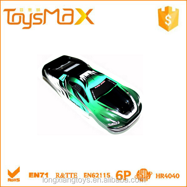 PVC Spare Parts for RC Toy Car, body shell