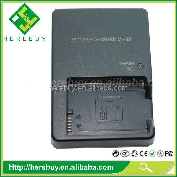 Quick charger for Nikon MH-24 MH24 EN-EL14 EL14 Li-ion Battery charger D3100 DSLR, D5100 DSLR camera charger
