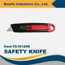 Automatic Retractable Utility Knife With Carbon Blade