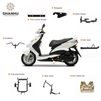 Cheap classic 49cc 150cc moped motor retro motorcycle scooter frame parts accessories for sale