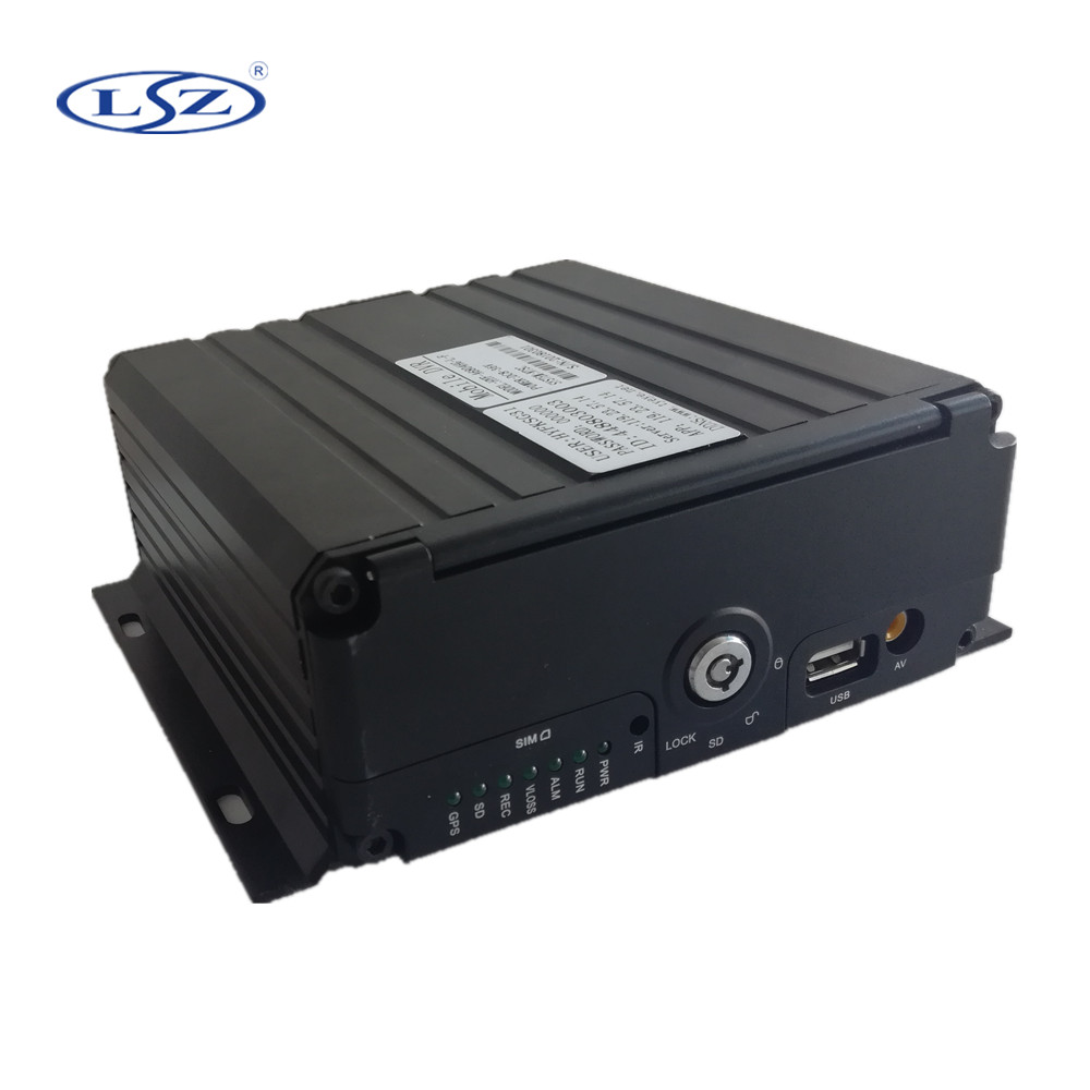 H.264 <strong>4</strong> <strong>Channel</strong> 1080P hdd gps <strong>3g</strong> 4g wifi Mobile DVR for school bus/truck/bus/vehicle