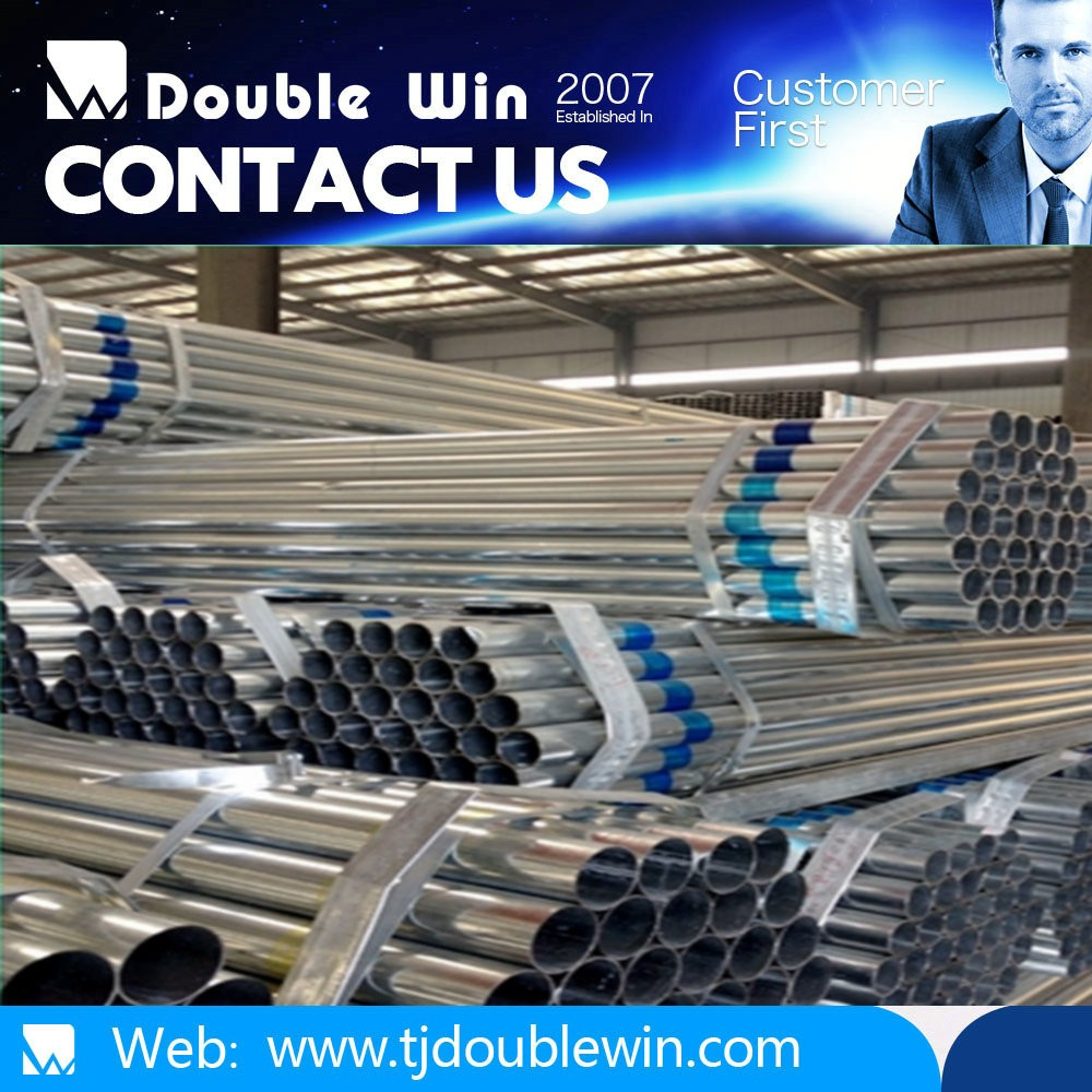 Schedule 40 steel pipe steel pipe galvanized construction greenhouse business industrial