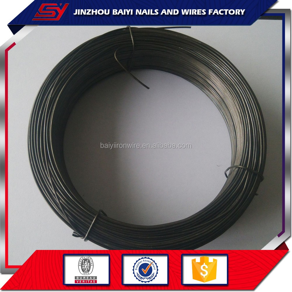Top selling 14 gauge wire thickness black annealing iron wire