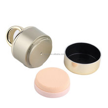 Professional Gold Color Electric Vibration Makeup Foundation Powder Puff Sponge Puff Head For Women Beauty Cosmetic Puff
