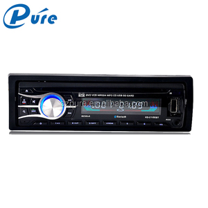 One Din Car DVD/VCD/CD/MP3/MP4 Player Support MM Card /USB/SD Card,Car Audio Stereo,Dimensional Dynamic LCD Color Display