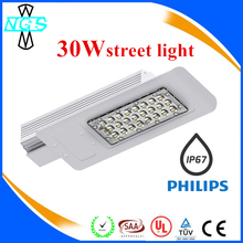 30w-150w LED street light CE RoHS NEW MODEL IP67 Aluminium 120lm/w