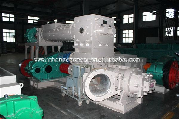 Latest technology!!! Double Stage clay brick extruder,green bricks machine