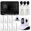 2016 WiFi Internet GSM GPRS Home Security Alarm System with cellphone APP