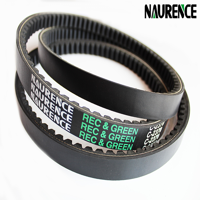 Most popular elastic belt ,tooth v-belts for agricultural machine