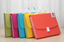 office stationery a4 plastic document file case with handle