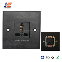 JS-WP102 aluminum AC Power Wall Outlet