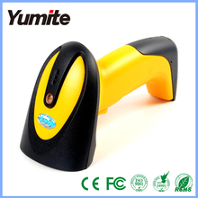 Siren and LED light wired handheld usb automatic laser barcode scanner