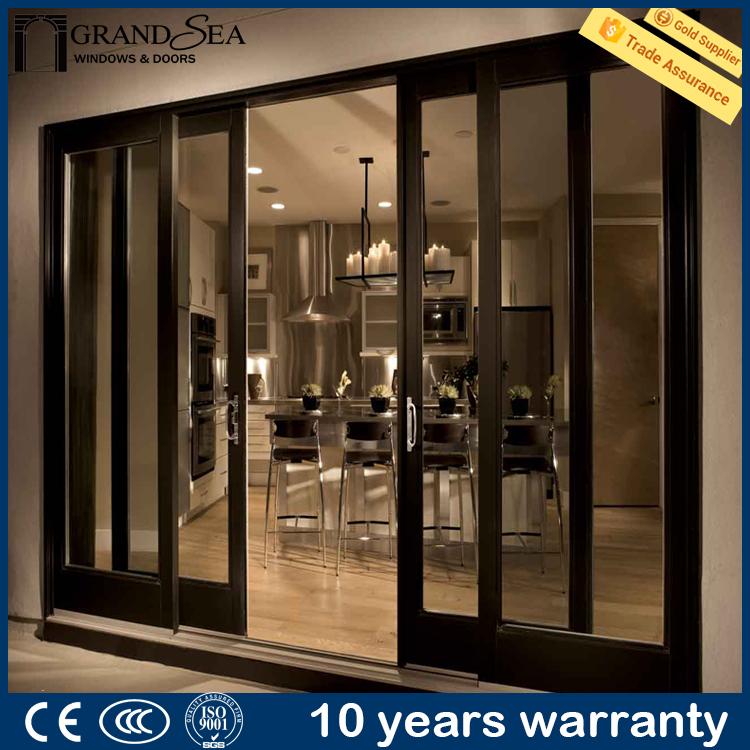 Aluminium sliding double glazing french doors for sale for Double glazed french doors for sale