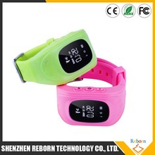 2015 new fashion kids gps watch for smart phone
