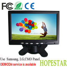 "7"" lcd usb monitor / vga led touchscreen / touch screen hdmi open frame 7"""