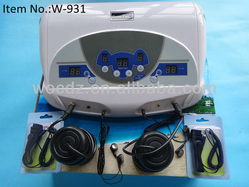 Music Function Dual Ion Hydrosana Detox Foot Spa/Dual Ion Cleanse With Mp3