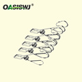 5pcs Pack Durable S/S clips 2.5'