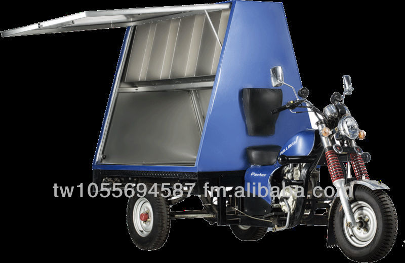 Vendor Tricycle Multi-purpose Motor Tricycle Innovative Tricycle Customization Tricycle 200C.C. Tricycle