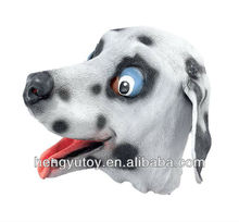 Adult Animal Full Head Latex dog mask