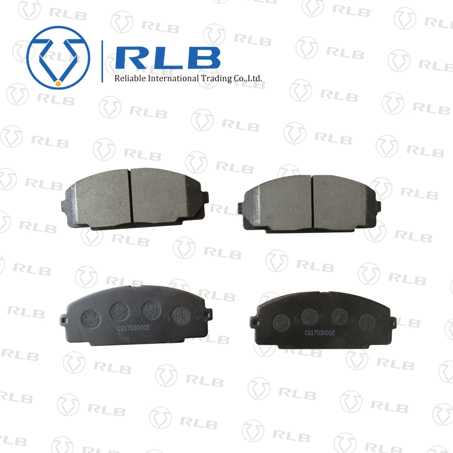 High quality car parts ceramic brake pad with 04465-26421 d1434 for hi ace 2005