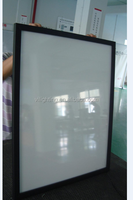 CE Approved Customized Snap Frame Slim Aluminum Advertising Led Curved Light Box
