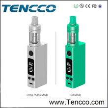 Joytech evic vtc mini with cubis atomizer 75W TC box mod with 3.5ml tank atomizer