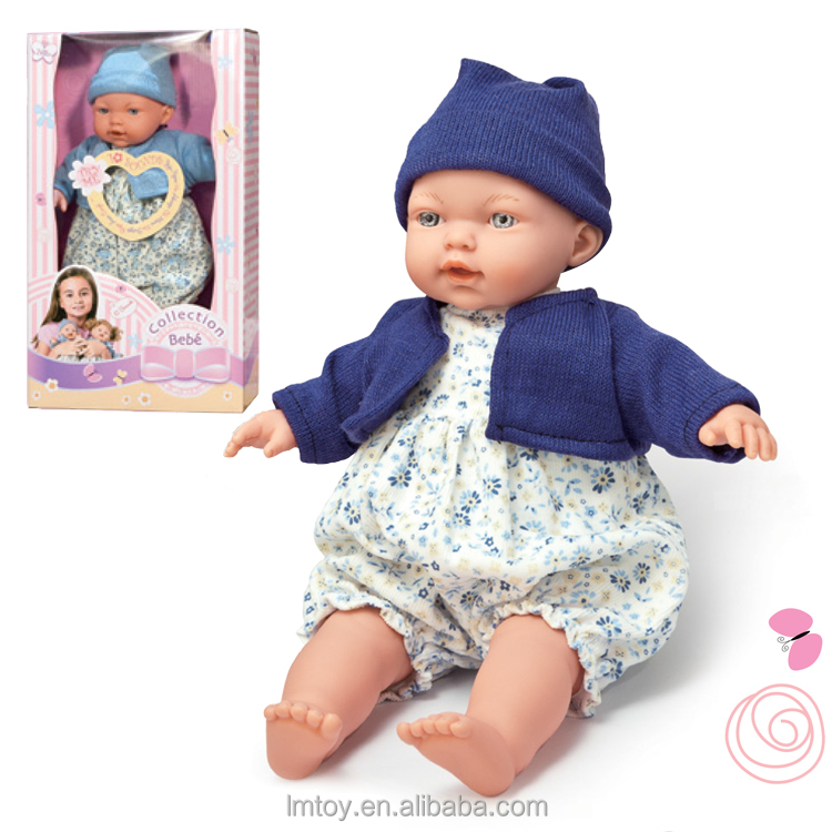ECO Friendly PVC material 11 inch baby alive DOLLS with 10 sound IC made in China