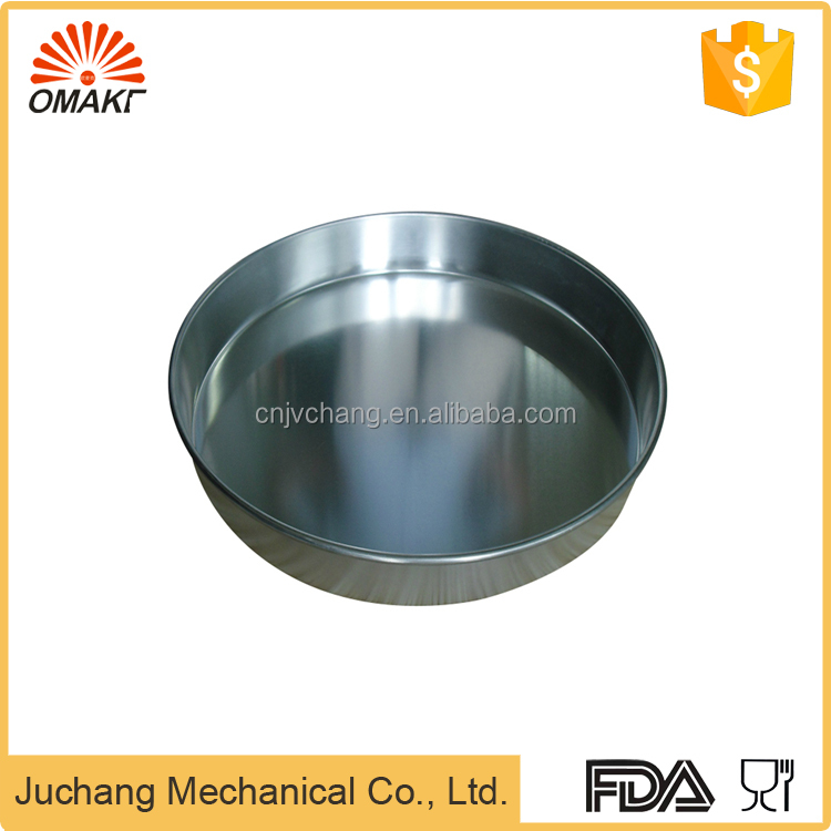 10 inch Commercial Aluminum Alloy Round Sheet Cake Pan for Sale