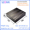 SZOMK OEM audio extruded aluminum components